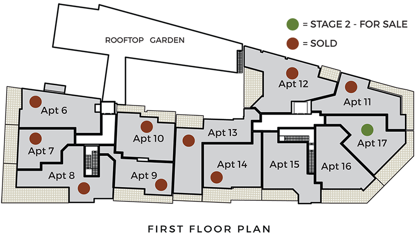 First floor apartment plan